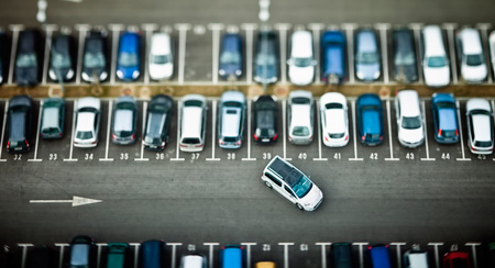Image of a parking system.