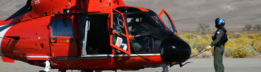 Picture of border guard helicopter.