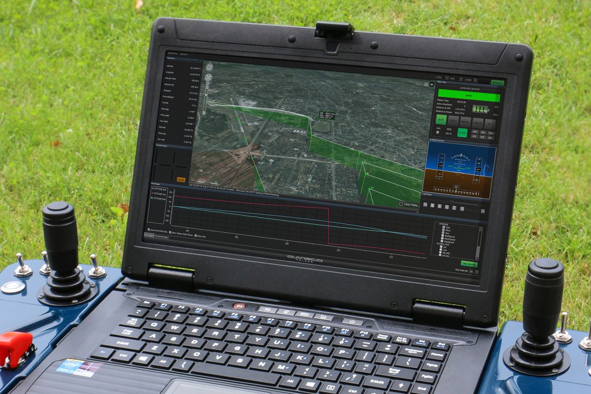 Asseco Gcs Ground Control Station Software Millitary