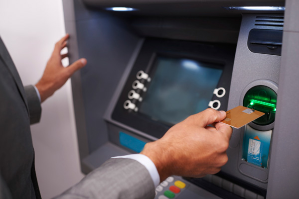 Photograph of ATM.